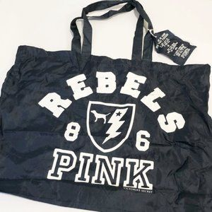 Pink Victoria's Secret Vintage Rebels Tote Bag New
